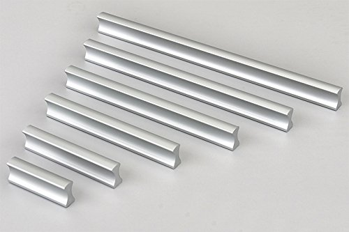 KFZ Aluminum Alloy Gate Handles Furniture Cabinet Handle Drawer Pull Door Knobs DJH604 Cabinet Hardware (5, 7.56'' Hole Center)
