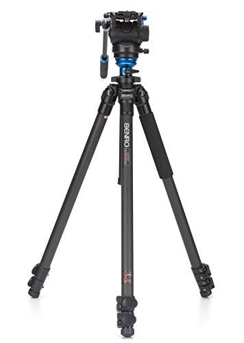 Benro S4 Single Leg Carbon Fiber Video Tripod Kit (C2573FS4)