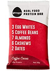 Googys Coffee Cocoa Protein Bar, x, Coffee Cocoa