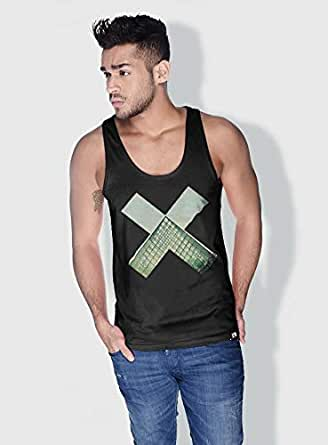Creo Paris Louvre X City Love Tanks Tops For Men - Xl, Black