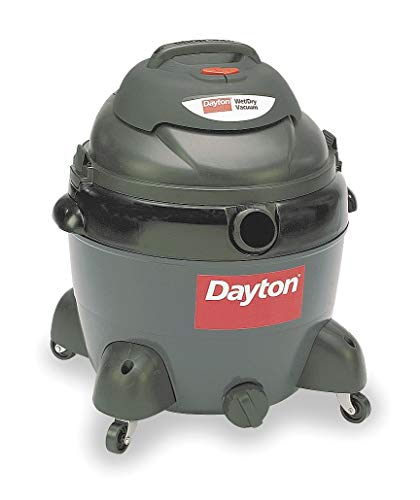 Dayton 16 gal. Contractor Wet/Dry Vacuum, 6.5 Peak HP, 120 Voltage – 3VE21