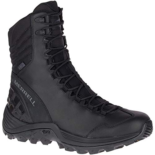 Merrell Thermo - Merrell Work Men's Thermo Rogue Tactical Waterproof Ice+ Black 11 M US