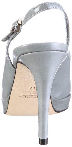 The Seller MARY S9448 Damen Sandalen/Fashion-Sandalen Grau/Grigio Scuro