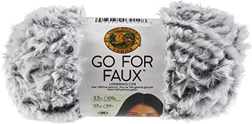 Lion Brand Yarn Go for Faux Yarn-Chinchilla