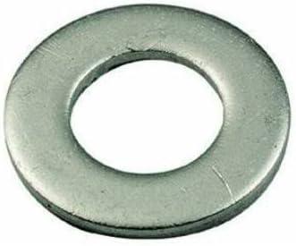 40piezas arandela de hierro galvanizado plano diámetro 5x 20mm 5Arandelas