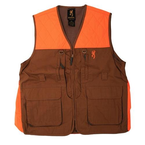 Browning Upland Vest, Field Tan, 3X-Large by Browning