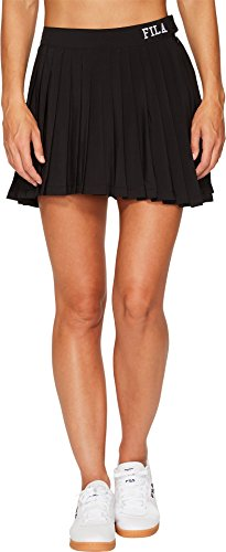 Fila Tennis Skirt - Fila Women's Lauryn Tennis Skirt, Black, L