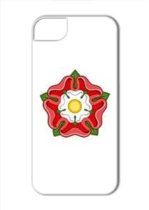 Case Fun Apple iPhone 5 / 5S Case - Vogue Version - 3D Full Wrap - England Rose