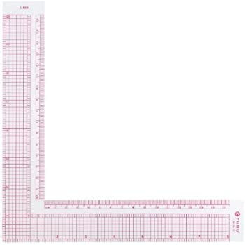 Westcott 8-Inch/17cm L-Square Inch/Metric (L-808) (L-808)