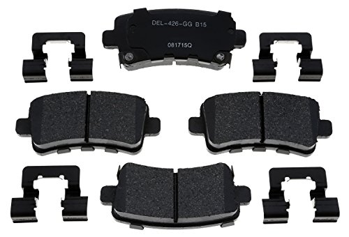 ACDelco 17D1430ACH Professional Rear Disc Brake Pad Set ()