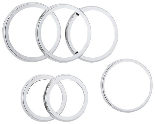 TM Performance H2PPC05103 Smooth A/C Vent Ring for Hummer...