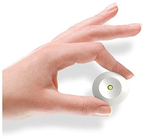 efficiente Luce bianco Freddo 6000/°K pratica Lampada di Emergenza NANOLED Lemergenza a scomparsa semplice batteria inclusa 3 ore di Autonomia