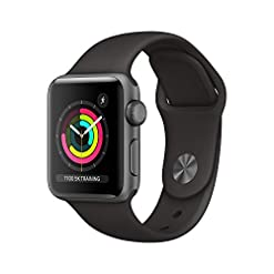Apple Watch Series 3 (GPS, 38mm) – Space Grey Aluminum Case with Black Sport Band best sellers [tag]