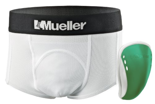 Mueller Athletic Support Brief with Flex Shield