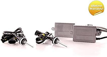 8500K DDM Tuning Plus 55W Premium HID Kit Slim AC Ballasts w//Hi-Output Bulbs H1