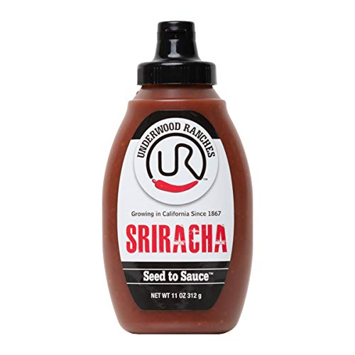Underwood Ranches Sriracha, 11 oz Squeeze Bottle (1 pack), No Artificial Preservatives