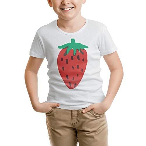 Wankens Strawberry Clipart Unisex Child Tshirt Cotton Short Sleeve Lovely -