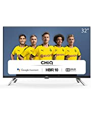 CHiQ L32H7A - 32 inch LED TV - Android Smart TV - Chromecast built-in