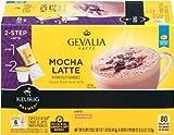 Gevalia Mocha Latte Espresso 6 Keurig K-Cups + 6 Froth Packets For Sale