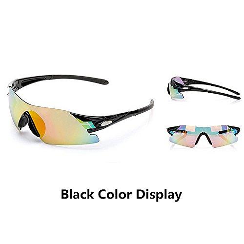 para Sol para Sol de LBY HD Deportivas Bordes Exteriores para Gafas Azul Color Gafas Gafas Sin Negro Gafas Hombre Miopía 00Oq8xZn
