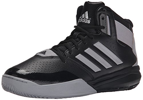 adidas Performance Men's Outrival 2 Basketball Shoe, Black/Light Onix/Silver Metallic, 10 M US (Next Speed Level Adidas)