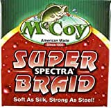 McCoy Fishing Super Spectra Braid Fishing Line, Mean Green, 150-Yard/4-Pound