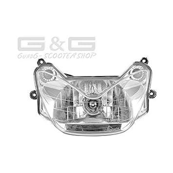 Scheinwerfer mit epr/üfzeichen f/ür MBK Nitro Yamaha Aerox 50 /& 100