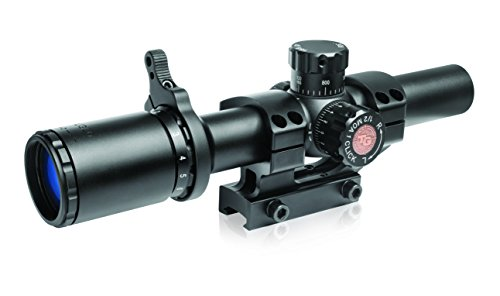 TRUGLO TRU-Brite 30 Series 1-6 X 24mm Dual-Color Illuminated-Reticle Rifle