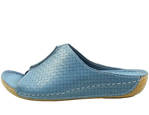 Andrea Conti; Damen-Pantolette; 773413 Blau