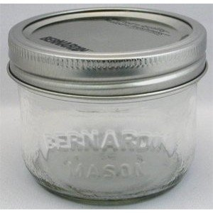 (Bernardin Mason Jars - 250 mL -)