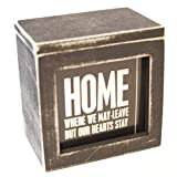 Primitives by Kathy Words of Wisdom Keepsake Wooden Box of Quotes, Inspirational