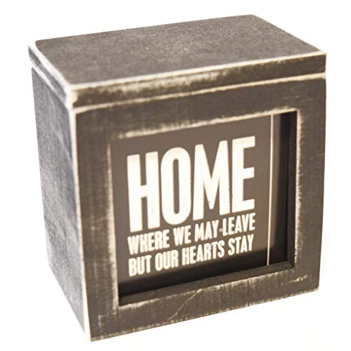 Primitives by Kathy Words of Wisdom Keepsake Wooden Box of Quotes Inspirational