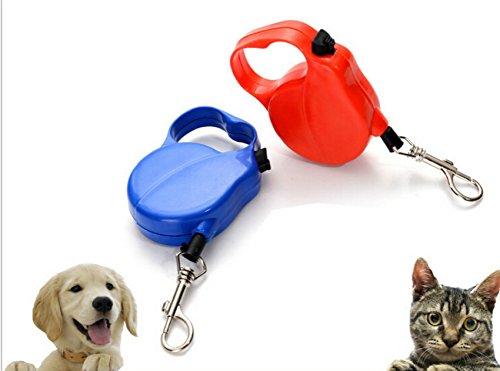 La Vie Roll-Leine für kleine und mittelgroße Hunde, aufrollbar, 8 m