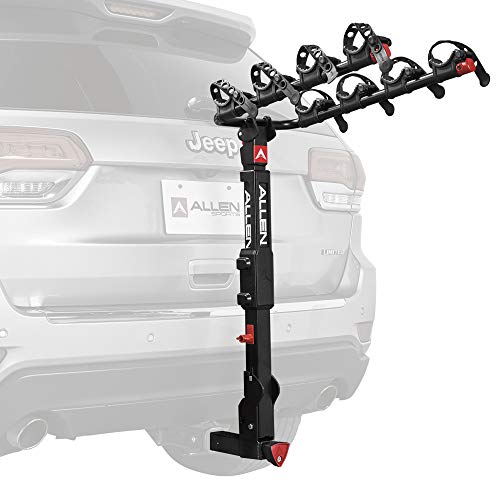 Allen Sports Premier Locking Quick Release 4-Bike Carrier for 2 in. Hitch, Model QR545