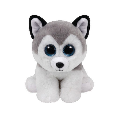 Ty Beanie Baby Buff The Husky Dog -