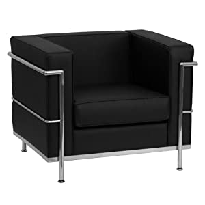 Modern style seating with encasing frame