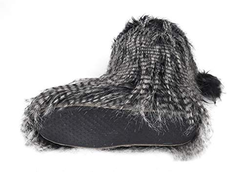 Mule Plush Slip Fuzzy Boots Warm Non Socks Birthday Slippers Slip Clog Gifts Ladies Slippers Cozy Furry Thermal Shoes Fleece Soft Floor Christmas Ankle On Bedroom Warm Fluffy Lining House Indoor Black with vYwZwq5B