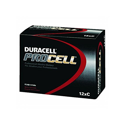 Proctor & Gamble Procell Alkaline ''C'' Battery, 12 Batteries Per Pack, 1 Pack by Proctor & Gamble