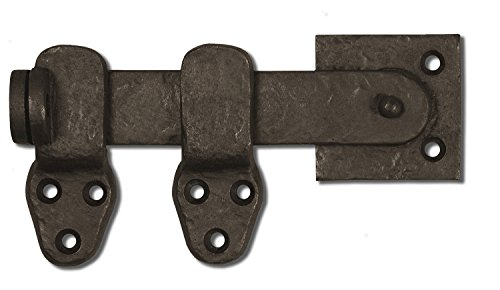Coastal Bronze - 6.5'' Lockable Gate Bar Latch - 50-420 - Solid Bronze by Coastal Bronze