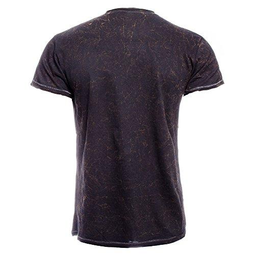 Jack-Daniels-Unisex-adults-Classic-Acid-Wash-Black-T-Shirt