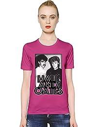 Hall & Oates Band Women T-Shirt Girl Ladies Stylish Fashion Fit Custom Apparel By Slick Stuff