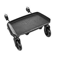 The Baby Jogger Glider Board is a great way to let your older child hitch a ride. It attaches easily to the rear axle of your stroller and has a non slip surface to help your child ride safely. The Glider Board flips up to stay out of the way...