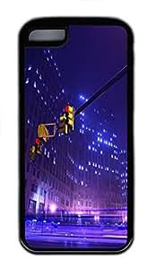 iPhone 5C Case,Red Light TPU Custom iPhone 5C Case Cover Black