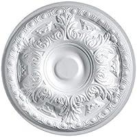 Rosetón decorativo para techo (poliestireno, permite utilizar la