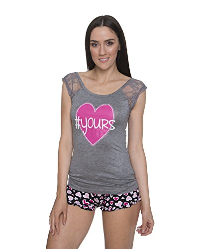 Heart Cami Set - 5