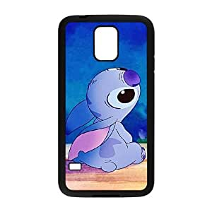 Disneys Lilo And Stitch Samsung Galaxy S5 Cell Phone Case Black Exquisite designs Phone Case KM575629