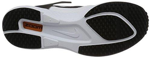 Nike Zoom Lite Qs Uomo Sneaker Bianco 850560 105 Bianco / Nero Corte Viola Agrumato Brillante