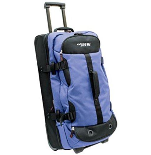 westjet-x-terrain-lightweight-luggage-drop-bottom-trolley-duffel-28-blue