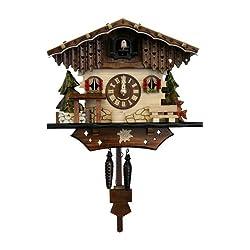 Black Forest 8.5-Inch High Cuckoo Clock