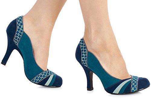 Ruby Shoo Heather Damen Schuhe Blau Blau - psychoberat-bielefeld.de 8eafa5f440
